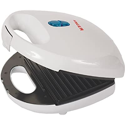 Singer SM-23 750-Watt Grilled Sandwich Toaster (White)