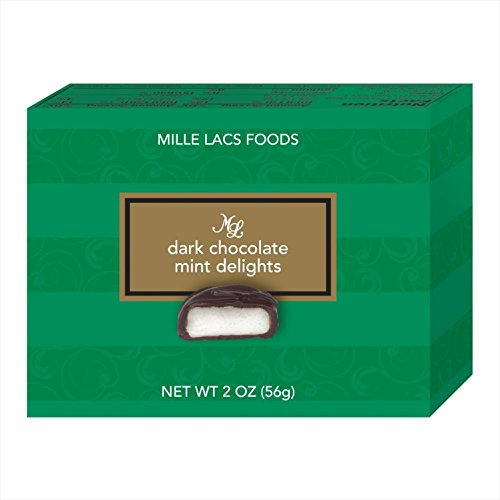 24 Boxes Dark Chocolate Mint Delights 2 Ounces Each Bulk Wedding Reception Party Favor Teacher Appreciation Gift Idea