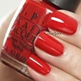 OPI Nail Polish Classics Collection Color Big Apple Red N25 0.5oz 15ml