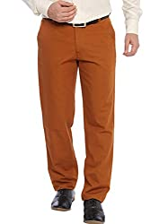 ColorPlus Medium Brown Men Trouser