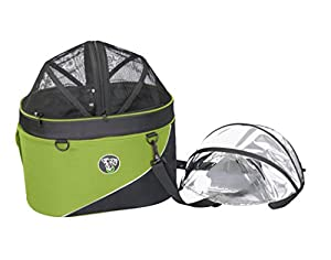 DoggyRide Cocoon Pet Carrier and Car Seat, Green