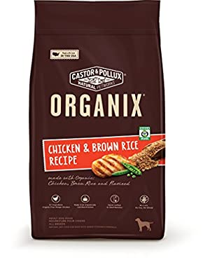 Organix Chicken & Brown Rice Recipe Dry Dog Food, 14.5-Pound