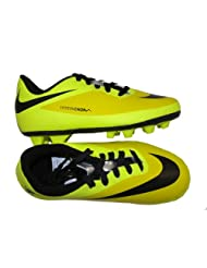 Nike Boy's Jr Hypervenom Phade Fg-R Yellow, Parrot Green And Black Synthetic Sports And Outdoor Shoes - Over 4... - B00F54X2HY