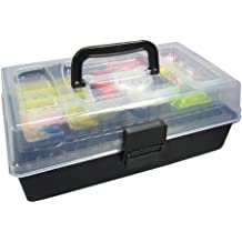 Outdoor Angler Grab 'N' Go Fishing 101 Piece Tackle Box