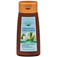 Tree Hut Exfoliating Foot Scrub, Peppermint and Sugar , 8-Ounce
