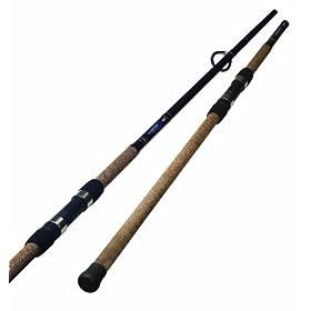 Okuma Fishing LC-S-1102H-1 Longitude Spinning Rod (Large, Black/Blue/Silver)