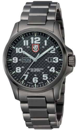 Luminox Atacama Field Day Date Gunmetal Watch 1922