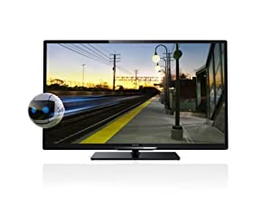 Philips 32PFL4308K/12 81 cm (32 Zoll) 3D-LED-Backlight-Fernseher, EEK A+ (Full HD, 200Hz PMR, DVB-T/C/S, CI+) schwarz