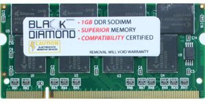 Memory-Up Exclusive 1GB DDR SO-DIMM Upgrade for IBM ThinkPad G Series G40 G40 Notebook PC2100 Computer Memory (RAM)