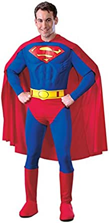 Rubie's Costume Co - Superman Deluxe Adult Costume