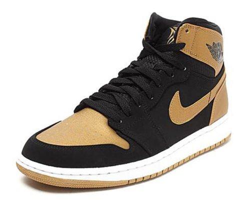 Black And Gold Retro Jordans Retro High Melo Black Gold