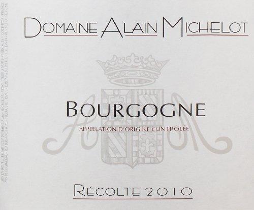 2010 Domaine Alain Michelot Bourgogne Rouge 750 Ml