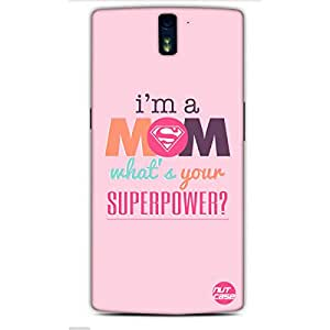 Mothers Day Gifts - Designer Case Cover for One Plus One Nutcase- Superwoman Mom