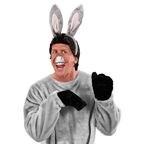 Masque âne set oreilles d'âne et museau masque de carnaval mule oreilles d'animal et museau masque de carnaval âne masque d'animal accessoire déguisement zoo