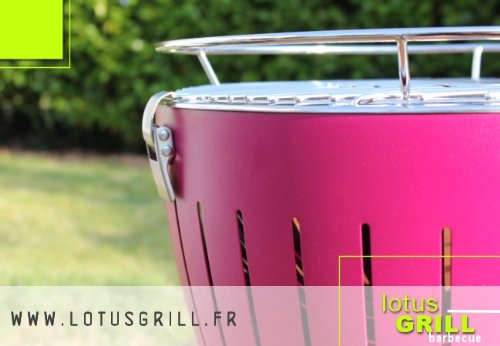 Lotus Grill - Barbecue Nomade - Lilas
