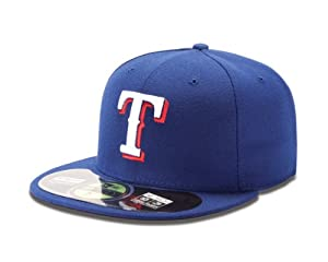 MLB Texas Rangers Game AC On Field 59Fifty Baseball Cap by New Era