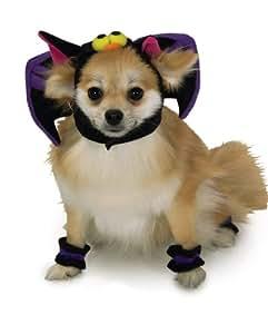 Rubies Costume Halloween Classics Collection Pet Costume, Medium, Bat Headpiece with Cuffs