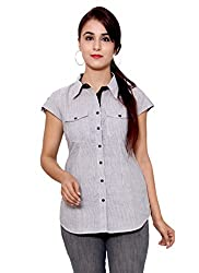 GMI Women's Self Design Casual Shirt
