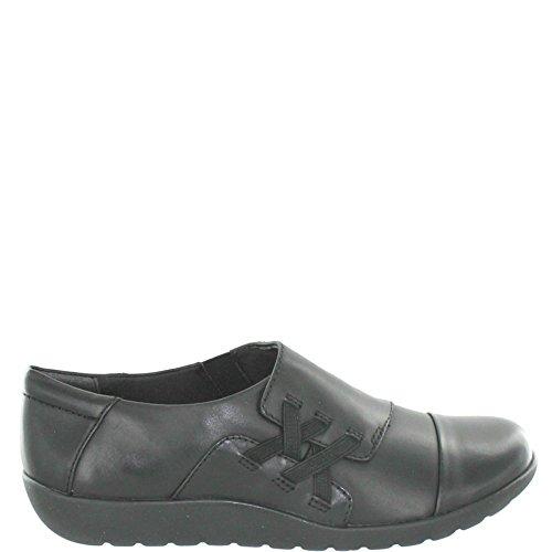 clarks-medora-sandy-damen-slipper-grosse-43-schwarz-schwarz
