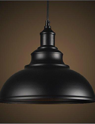 Sette Raggi del Nord Europa Industria vintage pendente in metallo luci sala da pranzo, soggiorno peculiare lampadario , 220-240v-nero+silver #2550 A2550