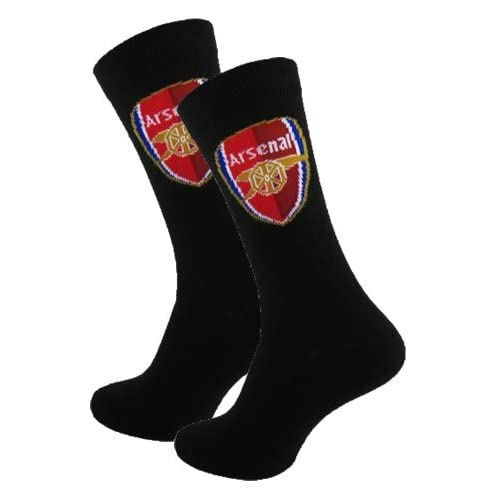 Official Arsenal FC Mens Socks (Size 6 11) - A Great Gift   Present For Men, Sons, Husbands, Dads, Boyfriends...