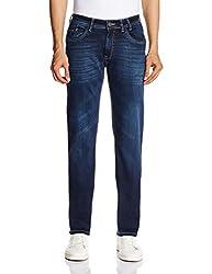 Monte Carlo Men's Skinny Fit Jeans (2150871214_36W x 33.5L_Blue)