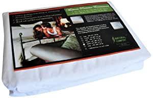Natural Comfort Anti-Bedbug Waterproof Box Spring/Mattress Encasement, 14-Inch, Full