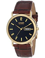 Citizen BM8242 08E Eco Drive Gold Tone Stainless