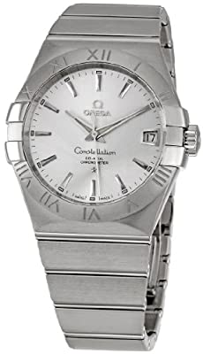 Omega Men's 123.10.38.21.02.001 Constellation Silver Dial Watch