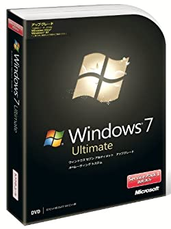 Microsoft Windows 7 Ultimateアップグレード版 Service Pack 1 適用済み