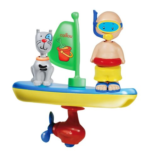Caillou Bath Time Vehicle - 1