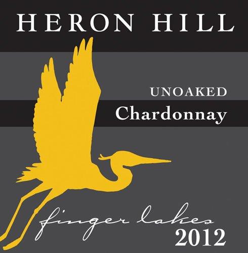 2012 Heron Hill Classic Chardonnay Unoaked 750 Ml