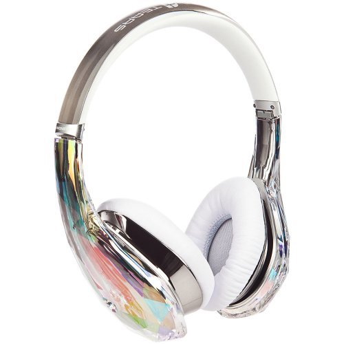 Monster Diamond Tears Edge Headphones (Crystal)