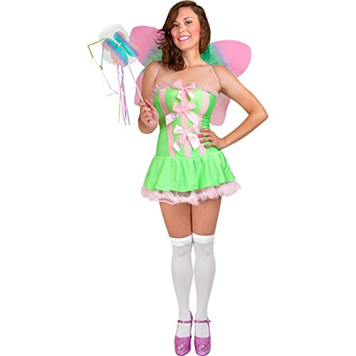 Sexy Tinkerbell Adult Costume (Size: Medium 8-12)