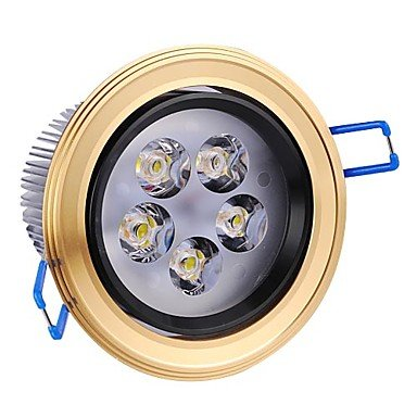 5W Led Aluminum Ceiling Light With 5 Leds Driver Included (Beam 5¡Ã/30¡Ã/45¡Ã/60¡Ã)