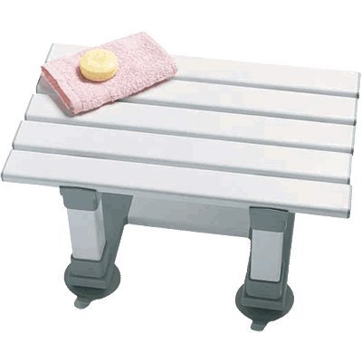 Medina 8 plastic bath seat enabling easy access to the bath