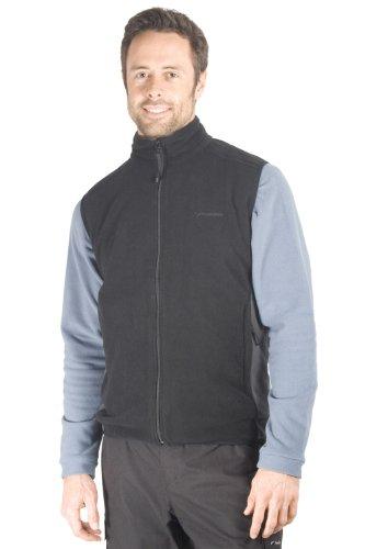 Men's Grove Fleece Gilet - Colour Black Size Small