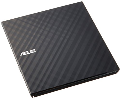 ASUS powered portable DVD drive [Windows 10 correspondence: Slim type / Windows Mac compatible with both write software comes with black SDRW-08D2S-U LITE