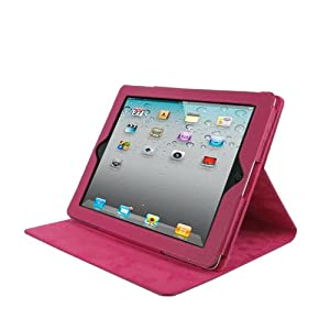 rooCASE genuine Leather Folio Case Cover for Apple iPad