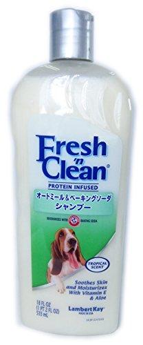 Lambert Kay Fresh'n Clean Oatmeal and Baking Soda Pet Shampoo, 18-Ounce