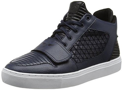 Creative RecreationLasala - Scarpe da Ginnastica Alte uomo , Blu (Blue (Navy White Geo)), 40.5