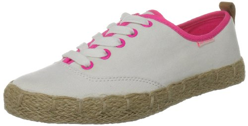 Juicy Couture Women's Salla Angel Off White Casual Lace Up J170207 5 UK, 38 EU, 8 US