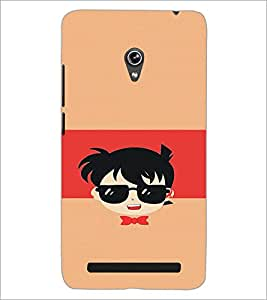PrintDhaba Cartoon D-4429 Back Case Cover for ASUS ZENFONE 6 A601CG (Multi-Coloured)