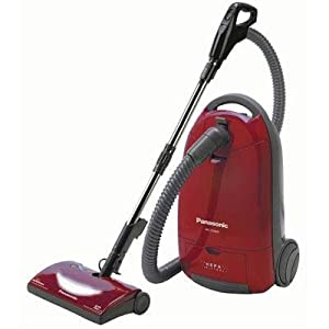 Panasonic Mc-cg902 Canister Vacuum Cleaner 12 a - Bagged - Burgundy