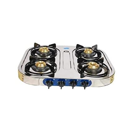 Stainless Steel Gas Cooktop (4 Burner)