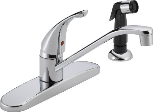 Peerless P115LF Classic Single Handle Kitchen Faucet, Chrome