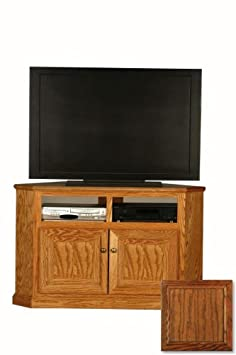 """Classic Oak 50"""" TV Stand Finish: Dark Oak"""