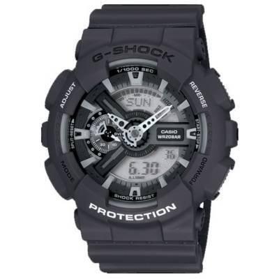 Casio GA110C-1AER Men's G-Shock Ana-Digi World Time Alarm Watch