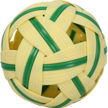Rattan Ball Sepak Takraw Sport Kick Ball Rattan Wood Standard Size 5 Inches