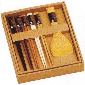 Japanese Chopsticks Gift Set (Rice Paddle Included)
